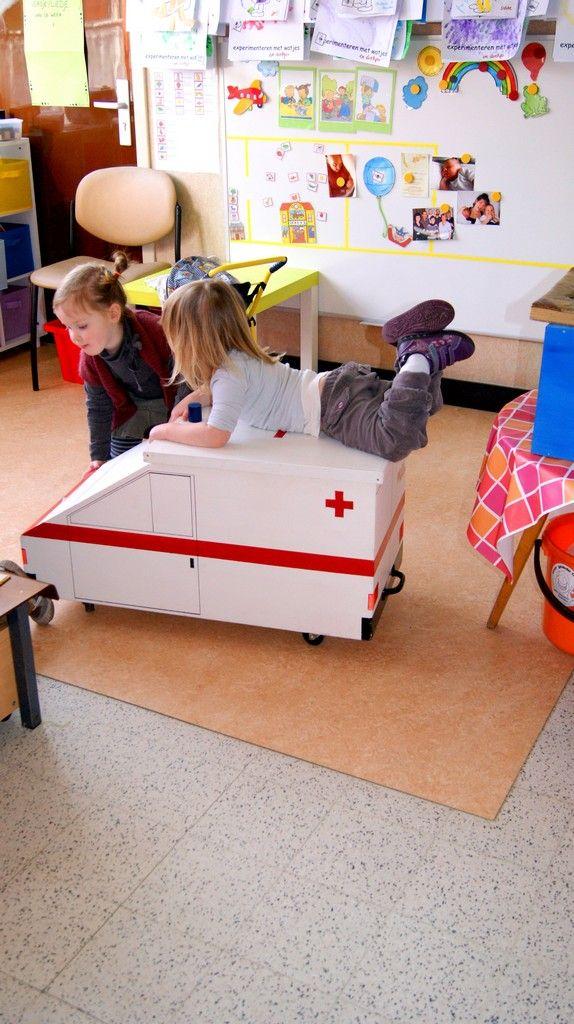 Ambulance in de klas