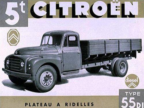 1953: Utilitaire Citroën type 55
