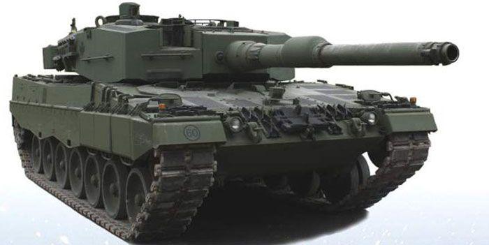 Le Leopard 2A4 est un char de combat à blindage lourd qui présente la combinaison optimale de puissance de feu, de protection, de mobilité et maneuvrabilité