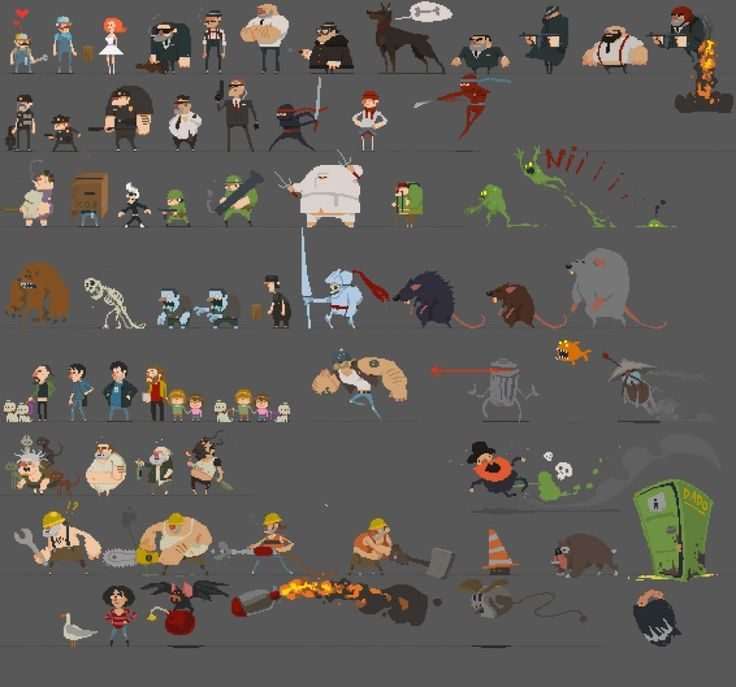 Pin By Lee Ames On Pixel Sprite Sheets