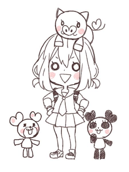 Setoguchi Hina ヤマコ #honeyworks #music #character