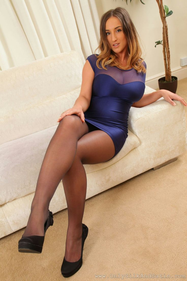 Very hot Pantyhose nylons ticket