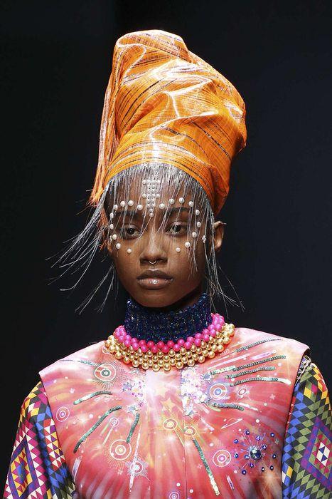 Manish Arora, Automne/Hiver 2017, Paris, Womenswear