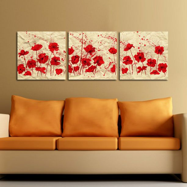 #Tablouri_Canvas din 3piese:3 buc x 50 x 50 m.Suprafata totala : 153 x…