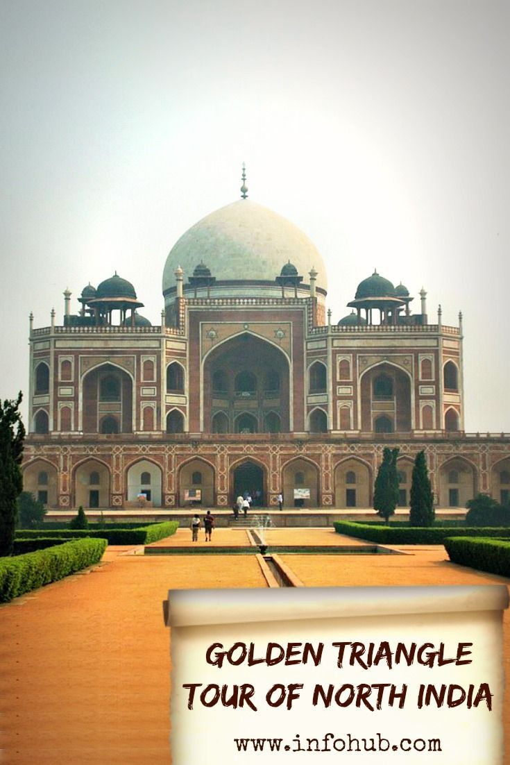 Most visited tour of India known as Golden Triangle.