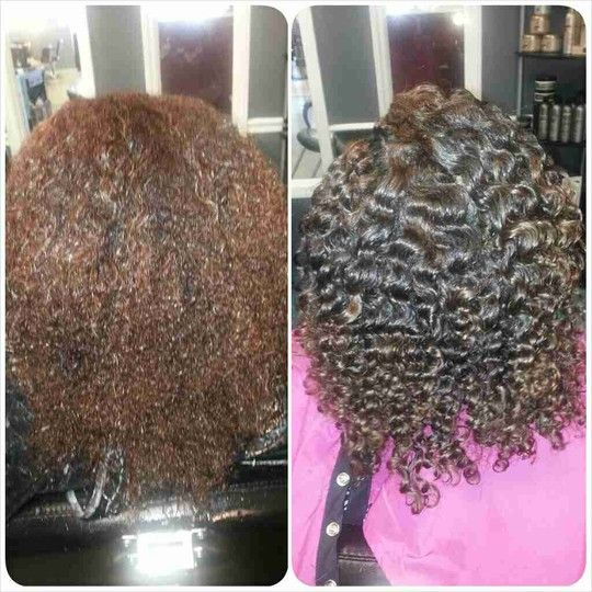 This is the definition of a High Definition Twist Out -- Another Tray_Bayy Special!