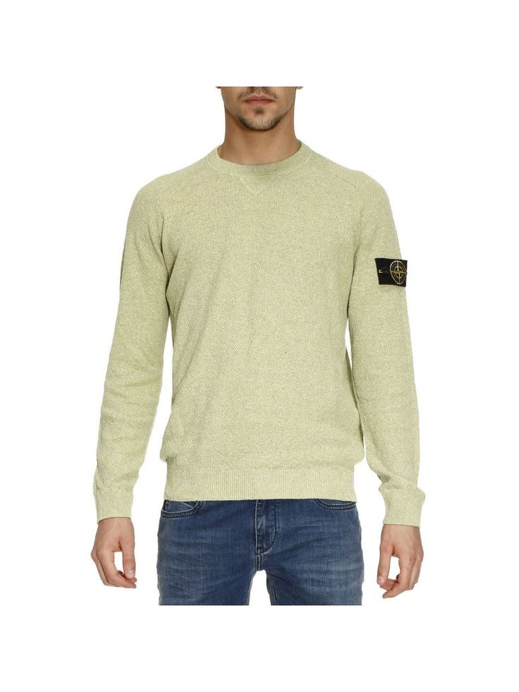 STONE ISLAND Sweater Sweater Men Stone Island. #stoneisland #cloth #