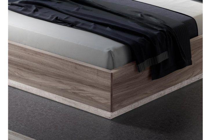 385 Lit Coffre 2 Places Chene Avec Sommier 160x200cm Madrid Alinea Interiores Interiores Design Melamine Muebles