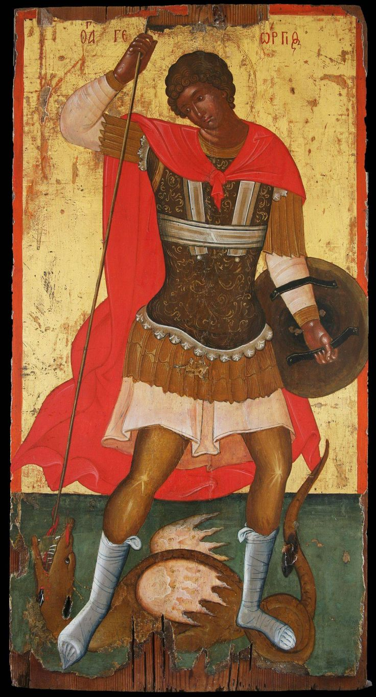 St George Slaying the Dragon - Morsink Icon Gallery