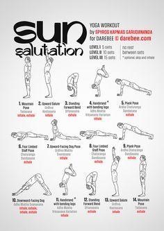 sun salutation workout yoga yogainspiration yogaposes
