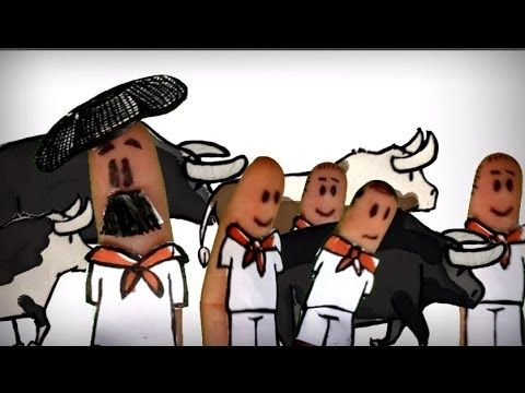 San fermin, san fermines, fiestas de Pamplona, España. ¿Cómo se celebran? Encierros, txupinazo, txarangas, gigantes y cabezudos