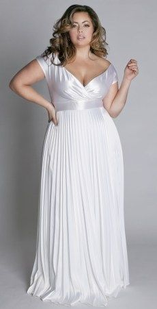 Reception dresses plus size