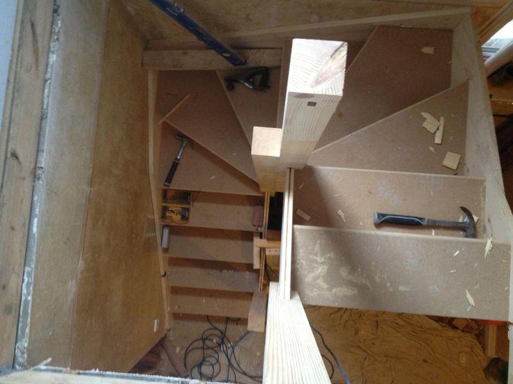 Staircase Installation Attic Designs Ltd House