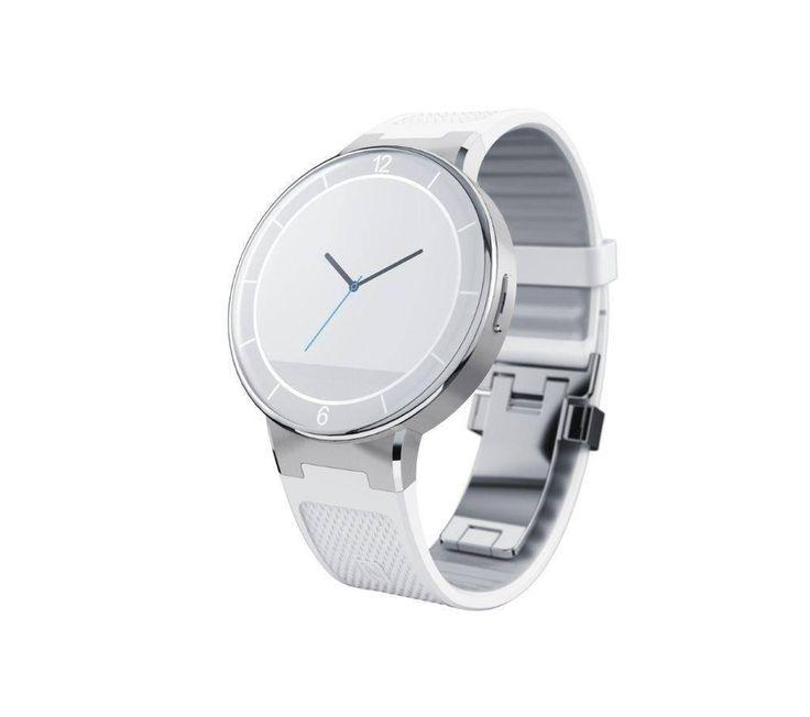 Alcatel One Touch watch blanco - compatible con #Android y con #iOs. Ya en #MaxMovil.com (haz clic en la imagen)