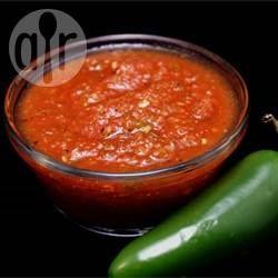 Foto da receita: Molho de pimenta caseiro rápido