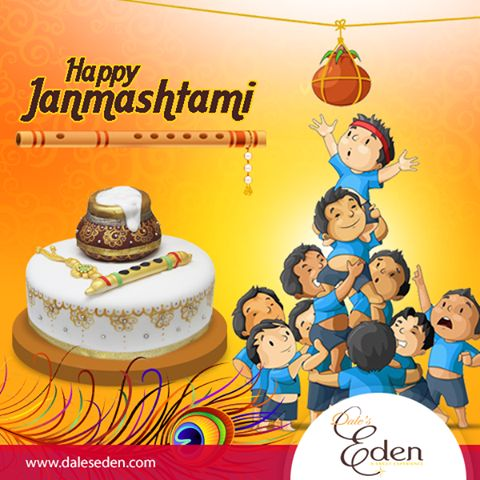May the love and blessing of lord Krishna fill your life with happiness and virtues on ‪#‎Janmashtami‬ an always.