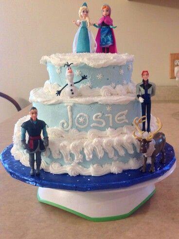 Cake Frozen Theme Cake Design Ideas Pinterest