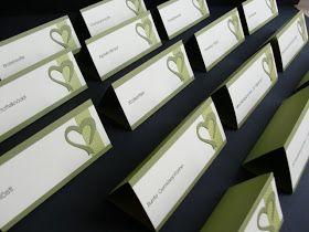 {Bellas} Papierträume: Das Hochzeits - Menü darf nicht fehlen....