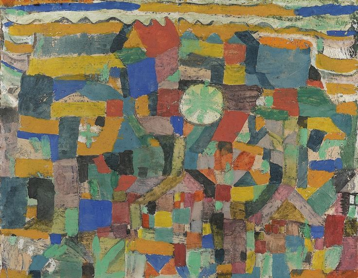 An analysis of paul klees painting destroyed place