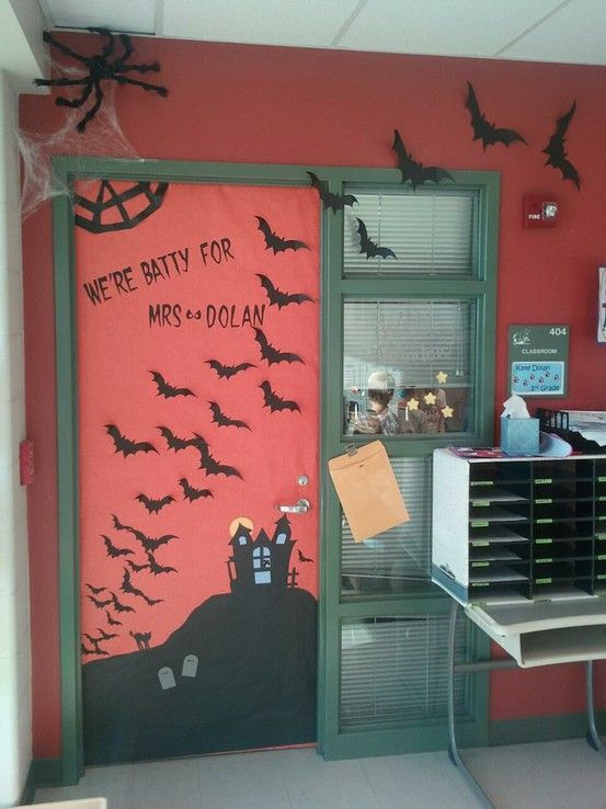 Halloween Classroom Decorations Make ~ Images about classroom door ideas on pinterest dr