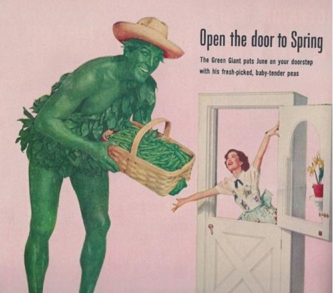 The Green Giant: The Creepiest Mascot In Advertising History