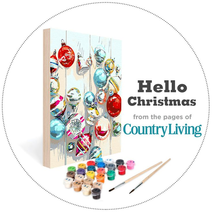 15 best christmas traditions images on pinterest la la for Easy 123 art com country living