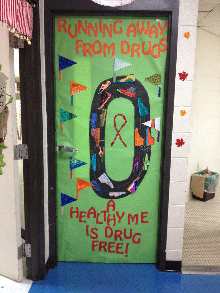 17 Best Images About Drug Free Door Decoration Ideas On