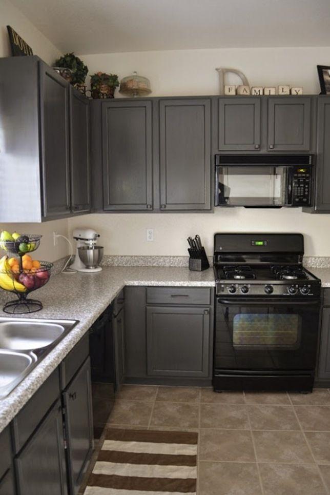 25 Amazing Grey Kitchen Design Ideas