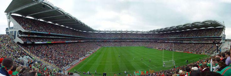 See Croke park, Dublin's principal stadium & headquarters of the Gaelic Athletic Association (Ireland's biggest sport association).