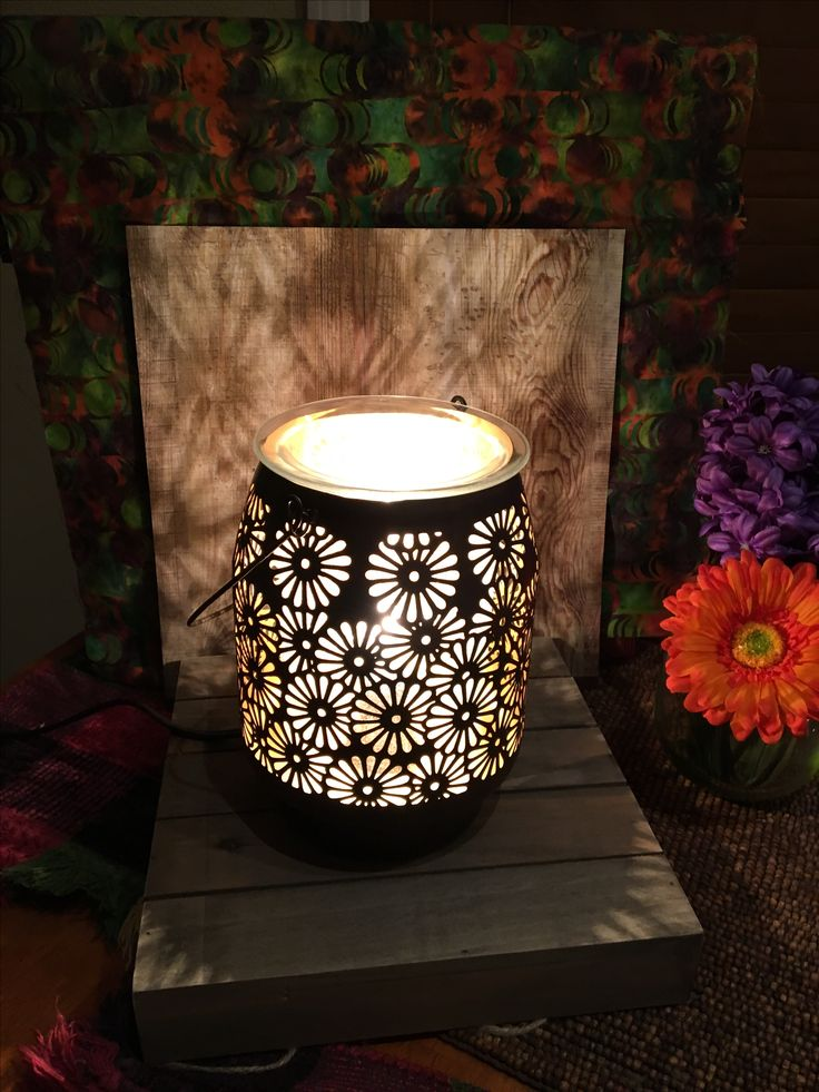 New Daisy Lantern warmer! Follow me on my fan page at FB ...