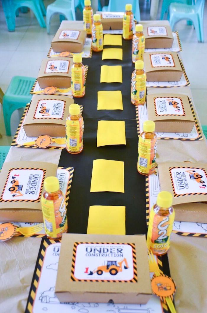 Rough And Tumble Construction Birthday Party