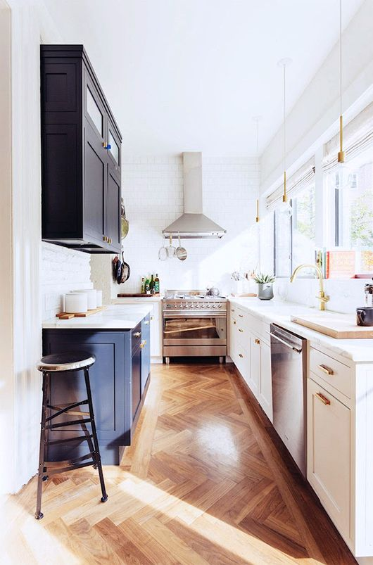 Dreamy brass kitchen fixtures / sfgirlbybay in Interior Design