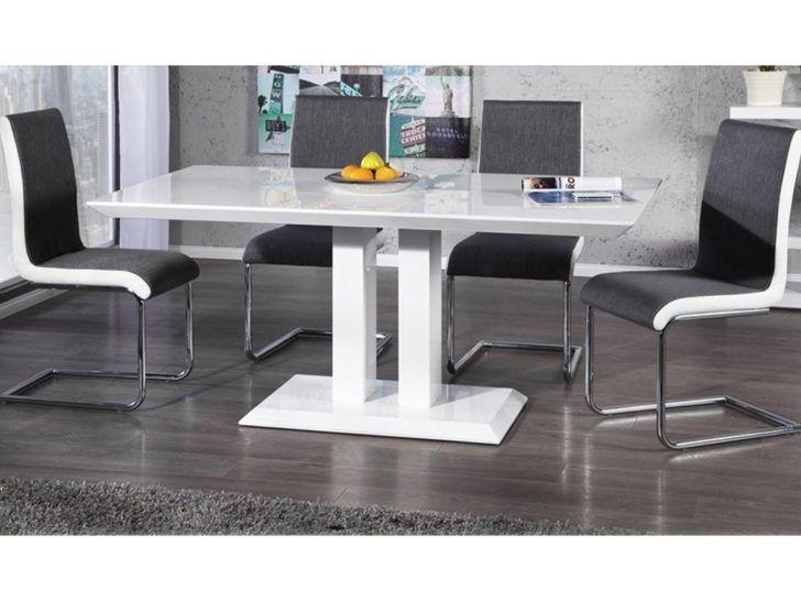 Interior Design Table Laque Blanc Table Repas Alina En Laque Blanc