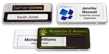 Have You Seen Our Range Of Reusable Name Badges?