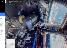 Visitez la Station spatiale internationale sur Google Street View