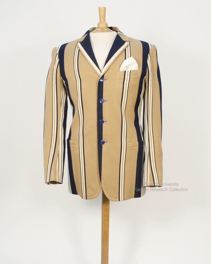 Striped men's jacket. FRC 1997.01.002