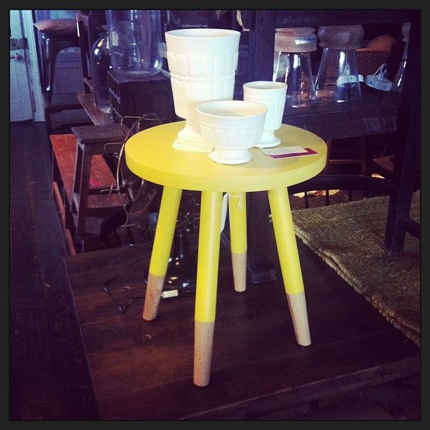 Great stool, new porcelain Kabinett Vintage, Piper St, Kyneton