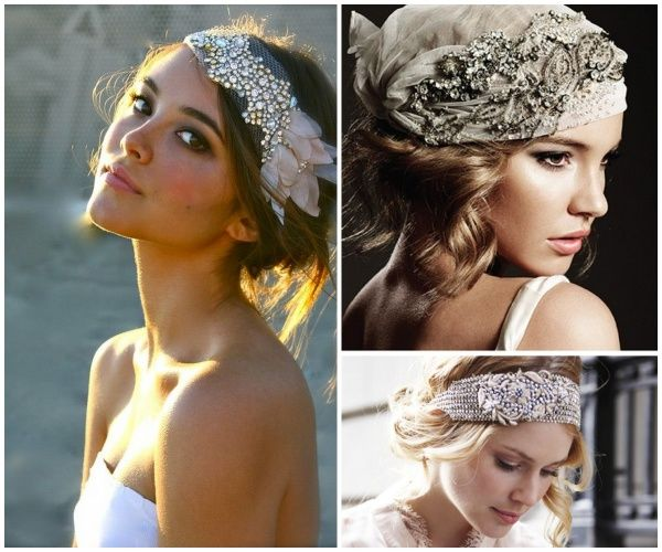 Recogidos nupciales http://www.bodabook.com/es/magazine/ideas-para-novias-con-pelo-corto-201310.html