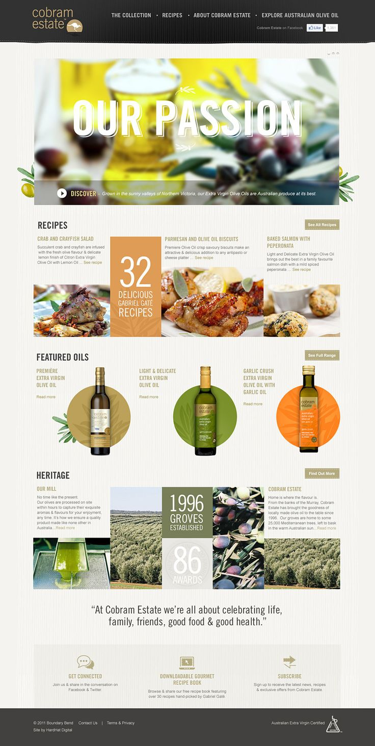 Cobram Estate Web Design | #webdesign #it #web #design #layout #userinterface #website #webdesign < repinned by www.BlickeDeeler.de | Take a look at www.WebsiteDesign-Hamburg.de