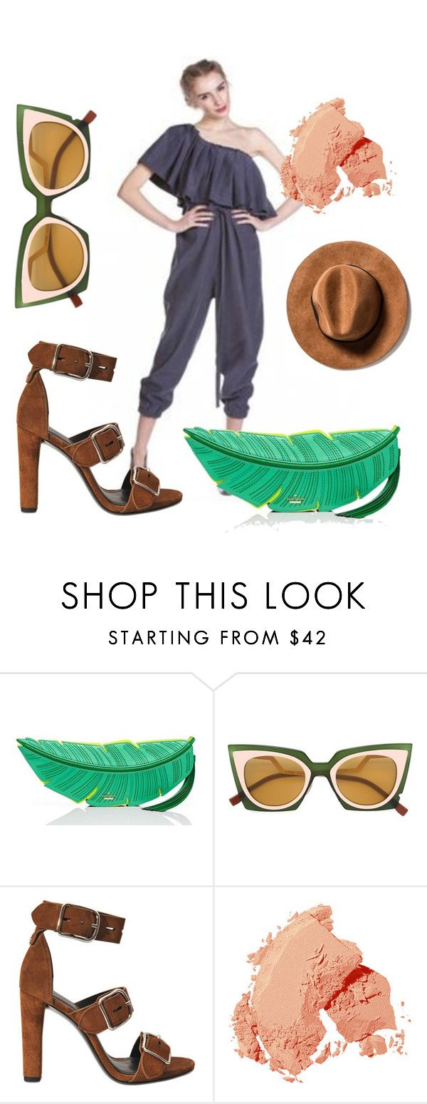 utoplama by katkat-cdlii on Polyvore featuring Alexander Wang, Kate Spade, Fendi and Bobbi Brown Cosmetics