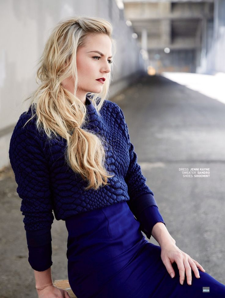 Jennifer Morrison photoshoot for Bello magazine