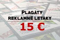 Letáky, propagačné materiály, vizitky a iné reklamné tlačoviny - Jaspravim.sk