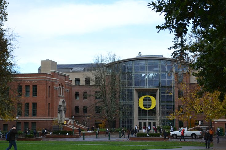 University of Oregon - I believe Jake and I were on campus during one of the few sunny days of the year!  Regardless, it is a great campus with topnotch athletic facilities - Go Ducks!