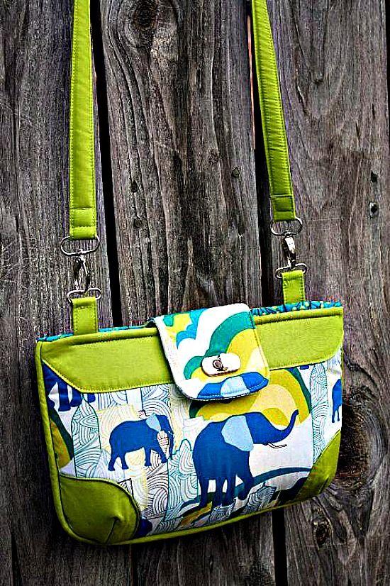 The Brookfield Bag - Free PDF Sewing Pattern by Sara Lawson of Sew Sweetness