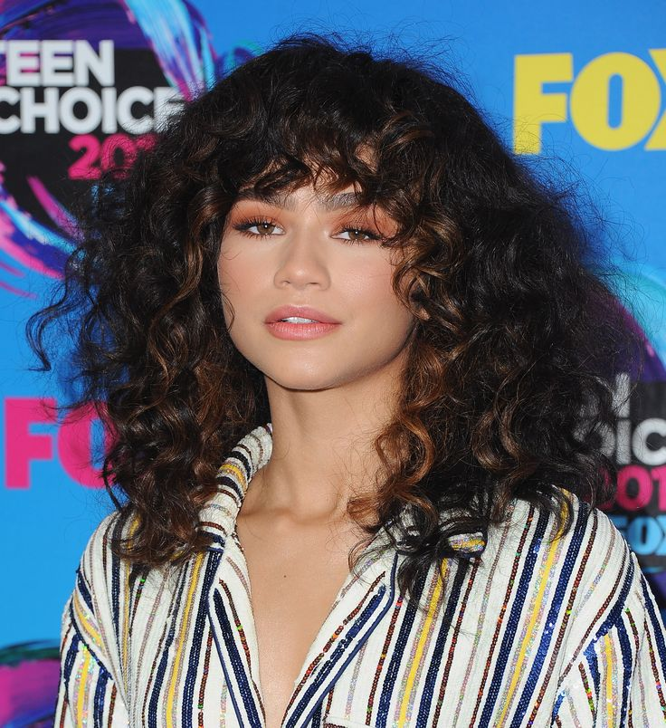 hair style with hair best 25 curly bangs ideas on curly hair 6691
