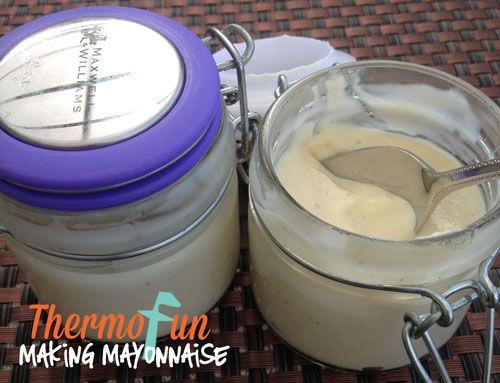 makingmayo ThermoFun Techie Tuesday Making Mayonnaise