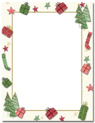 Free Printable Christmas Borders