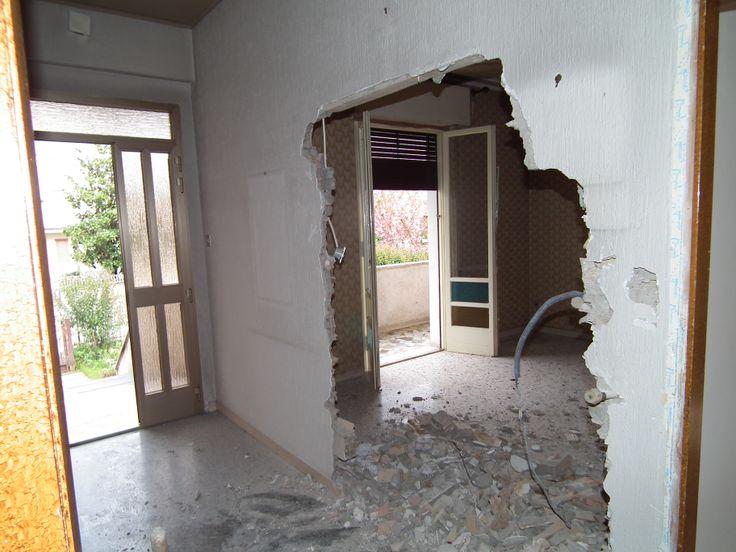4 aprile 2014 inizio dei lavori di ristrutturazione