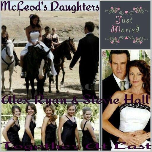 McLeod's Daughters- Alex & Stevie's Wedding