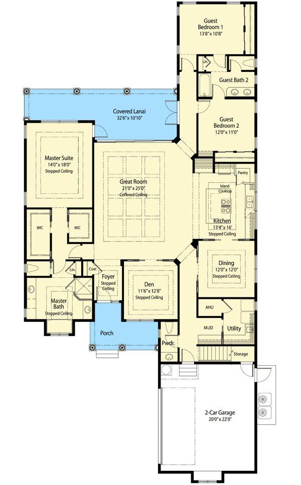 247 best House Plans images on Pinterest | Craftsman house plans ...